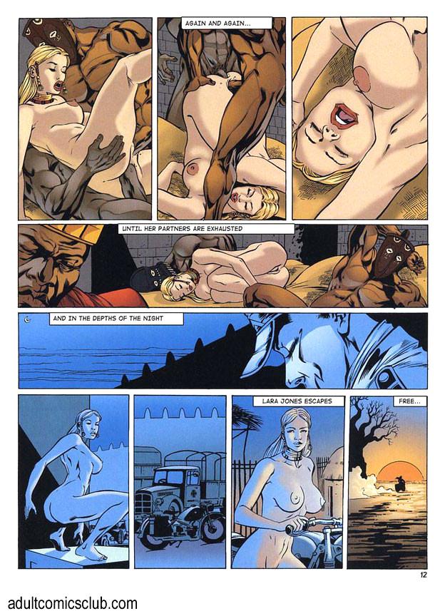 Free sex comics of lara croft
