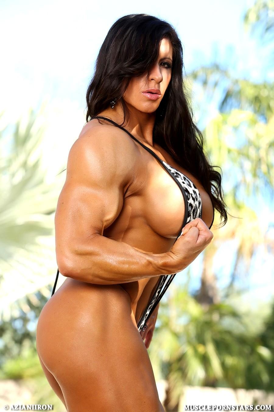 Azianiiron Angela Salvagno Sexhab Amazon Muscle Woman -8507