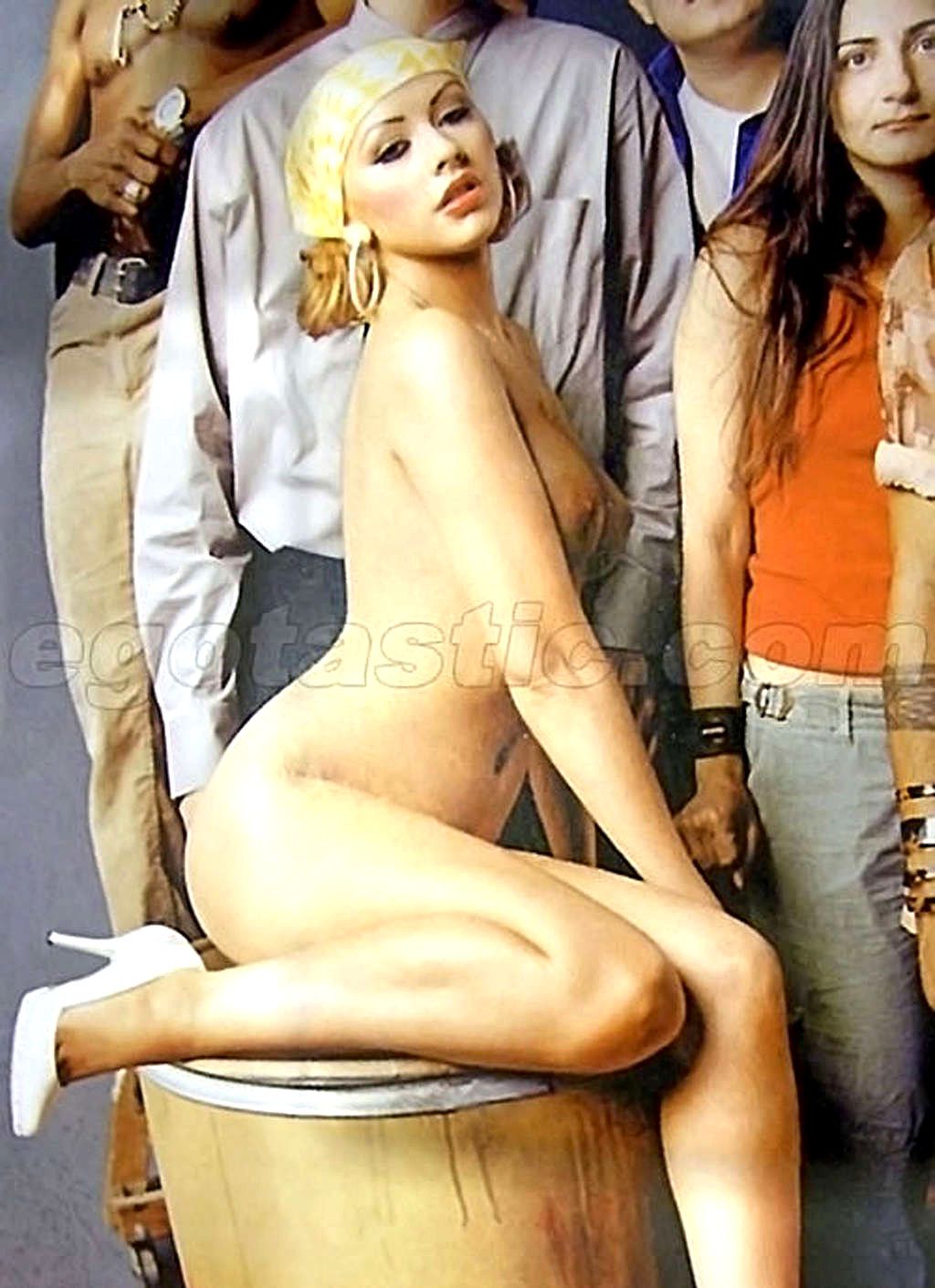 Nude christina aguilera upskirt pic from