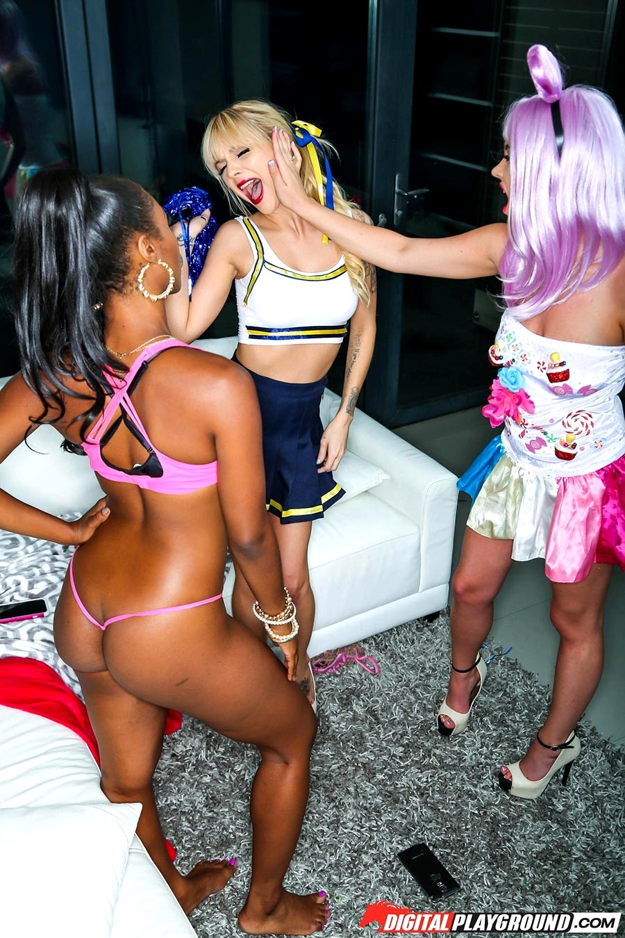 Chanell Heart In Orgy