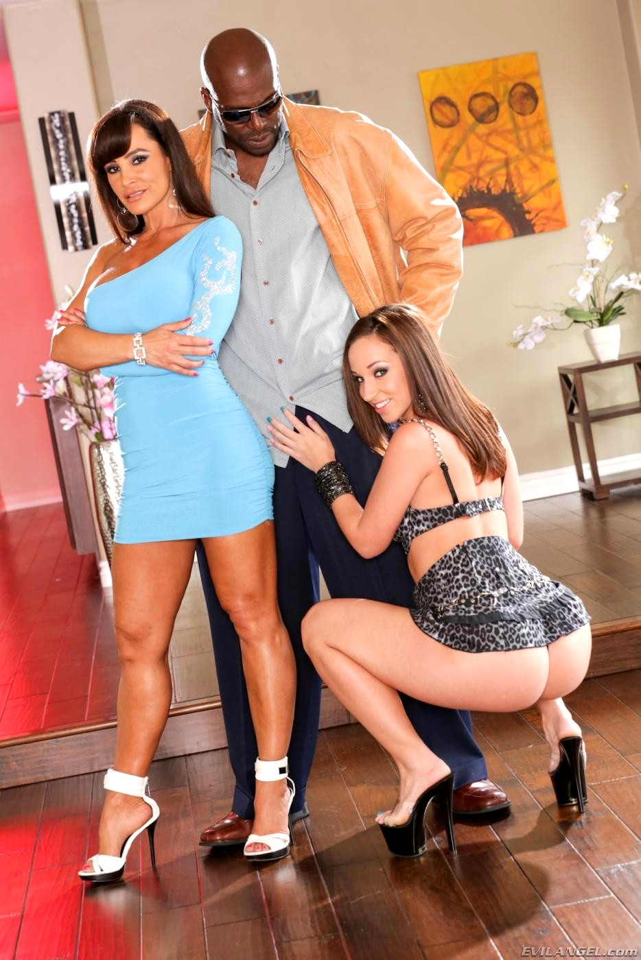 Thanks for Lisa ann and jada stevens evil angel remarkable
