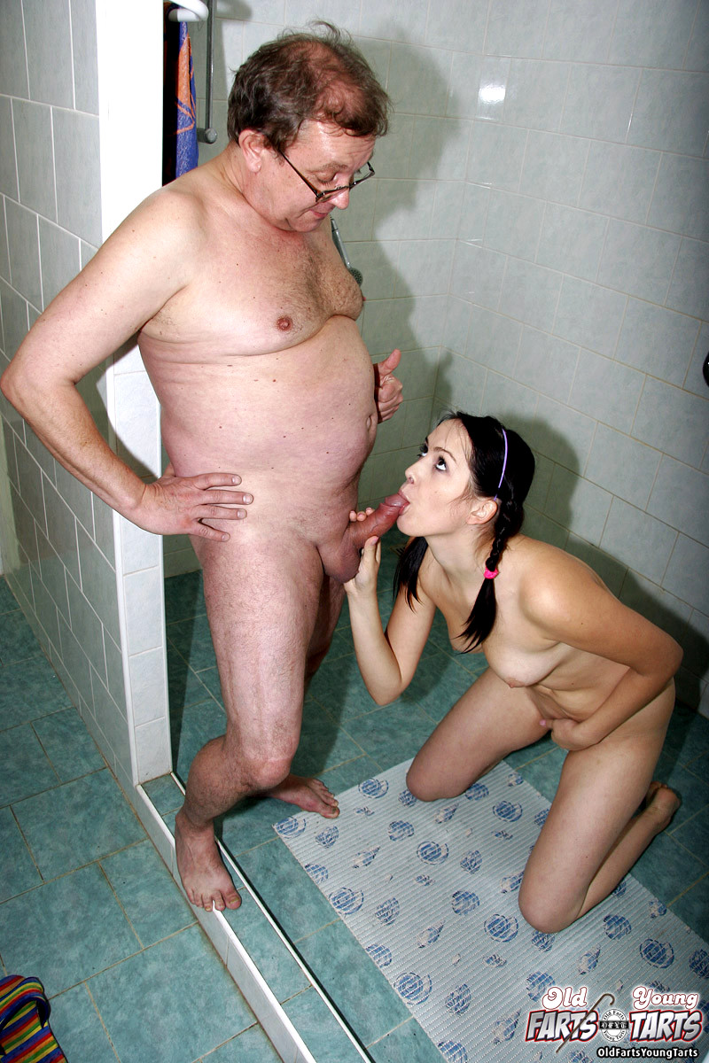Young tranny and old fart video-4131